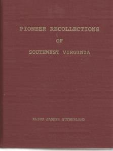 BOOK Pioneer Recollections