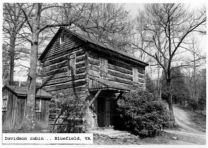 DAVIDSON cabin in Bluefield
