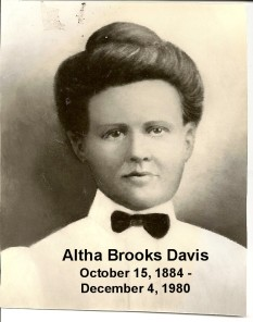 Altha Rudolph Brooks