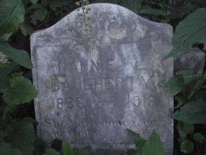 MARRS - Daugherty Nannie L. Daugherty 1836-1918