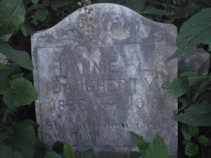 MARRS - Daugherty Nannie L. Daugherty 1836-1918