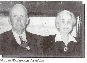 WALLACE Morgan and M Josephine Davis