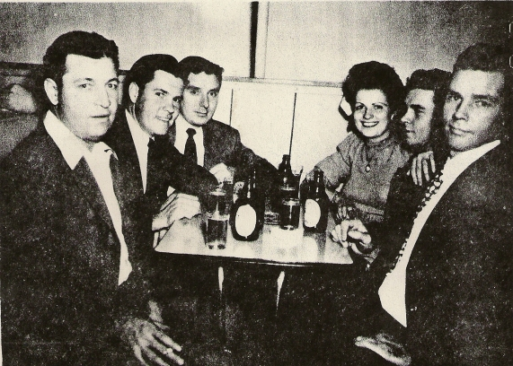 BUCKLAND Buddy, Charles, Richard, Walter, Robert