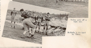 McHAFFA Richard 1942 GHS football