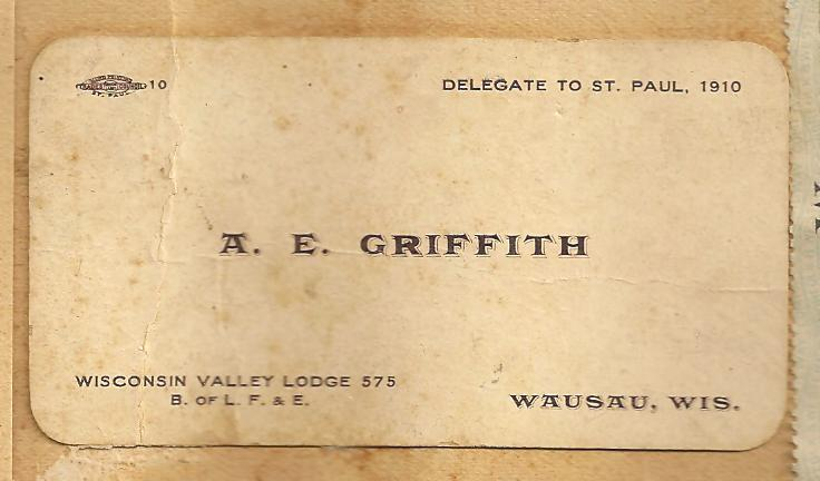 Vintage Calling Cards The Railroaders Daughter